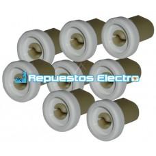 Kit ruedas cesto superior lavavajillas AEG, Electrolux, Zanussi