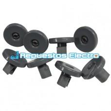 Kit ruedas cesto inferior lavavajillas AEG, Electrolux, Zanussi, Ikea