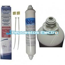 Filtro de agua frigorífico americano Balay, Bosch, Fagor, Teka, Smeg, LG, Siemens, Samsung