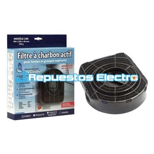 Filtro carb n activo campana extractora tipo 200 - Filtro campana extractora ...