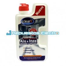Crema limpiadora Inox y Aluminio 250 ml
