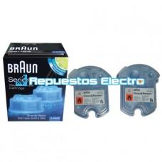Cartucho limpiador Braun Pulsonic, Prosonic, Active Power