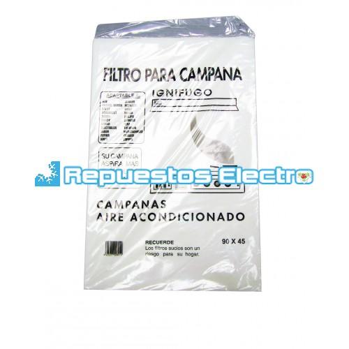 Filtro papel campana extractora universal 90 cm - Filtro campana extractora ...