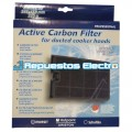 Filtro carbón activo campana extractora Indesit, Ariston