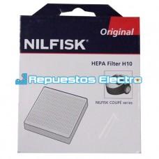 Filtro aspirador Nilfisk Coupe, Parquet H10