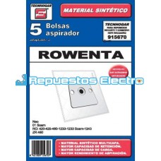 Bolsa aspirador microfibra Rowenta