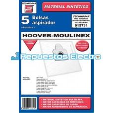 Bolsa aspirador microfibra Moulinex
