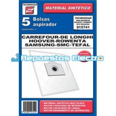Bolsa aspirador microfibra Carrefour Spirea