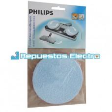 Disco pulidor de suelos para cepillos aspirador Philips